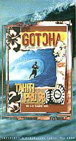 Gotcha - video vhs Tahiti Pro 98 - PSM music
