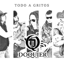 "Doquier - ep-cd ""Todo a gritos"" - PSM music"